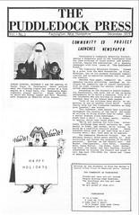 1979-PuddledockPress-p1v1n1 (puddledockpress) Tags: 1979 edition farmington issues news nhnewspaper number01 puddledockpress scribd volume01 farmingtonnh newspaper december frontpage