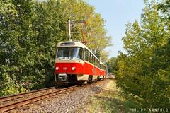 IMG_7855-2 (philipp138) Tags: beiwagenzug t4d b4d ckd tatra überlandbahn