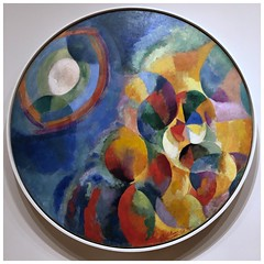 Simultaneous Contrasts: Sun and Moon (aiva.) Tags: newyork usa nyc ny museum moma art painting delaunay robertdelaunay