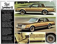 1981 Buick Regal Somerset II (aldenjewell) Tags: 1981 buick regal somerset ii dealer flyer