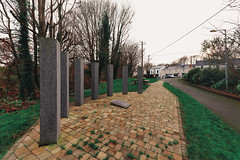 1916 GARDEN OF REMEMBRANCE [STATION ROAD LEIXLIP]-148223 (infomatique) Tags: 1916 memorial 1916gardensofremembrance leixlip countykildare stationroad easterrising williammurphy infomatique fotonique streetsofireland sony a7riii sigma 14mmlens wideanglelens