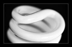 Macro Mondays - Pick Two (frankvanroon) Tags: macromondays picktwo twistedglass twisted glass hmm mm bw blackandwhite blackandwhitephotography sigma105mm
