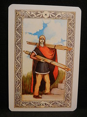 Ten of Wands. (Oxford77) Tags: tarot thenorsetarot norse viking vikings cards card tarotcards