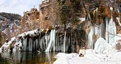 Hanging Lake (valentina425) Tags: colorado rocky mountains frozen waterfall glenwood winter january hanging lake tree water ice