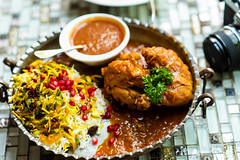 Bahala Polo with Chicken (Thanathip Moolvong) Tags: singapore centralregion sg shabestan persian lunch