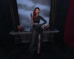 are you ready? (missbebinou) Tags: retro goth vintage woman