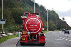 Moves at Forth Road Bridge (1/7) (Jungle Jack Movements (ferroequinologist)) Tags: vovlvo fh gray truck wheel edinburgh scot scottish scotland uk united kingdom great britain construction road super hp horsepower big rig haul freight cabover trucker drive transport bulk lorry hgv wagon highway nose semi trailer deliver cargo vehicle load freighter ship move motor engine power teamster tractor prime mover diesel injected driver cab forth rail bridge daf rigid mulholland man xf bss plant services scania p410 ai automotive p230 arr craib mercedes