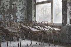 Pripyat City Hospital № 126 (Sean M Richardson) Tags: abandoned hospital pripyat exclusion zone ukraine decay details texture history canon photography travel explore color light fall autumn