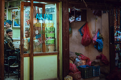 Barbershop (danielhibell) Tags: kathmandu nepal travel asia discover explore world street streetphotography people religion culture ambience mood buddhism hinduism colour light praying moving special