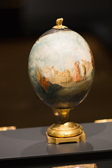 Ostrich egg with painting (quinet) Tags: 2017 amsterdam antik netherlands rijksmuseum ancien antique museum musée