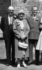 IMG_0047 Roy Spafford and Veda Wedding Scawby Parish Church of Saint Hybald's Geoff Spafford RIP with his parents Ernest and Evelyn Kate Spafford 20th June 1959 (photographer695) Tags: roy veda wedding scawby parish church saint hybalds spafford geoff rip with his parents earnest evelyn kate 20th june 1959 ernest