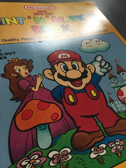 Super Mario Bros Paint n Marker Book 1989 Nintendo_03 (gamescanner) Tags: nintendo mario bros coloring book golden kids activity video games 1989 isbn 030701598x 03350015984