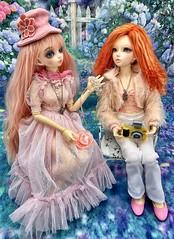 Beautiful Girls (twilitize) Tags: doll dolls dolly dollphotography dollfairyland dollworld dollytime dollart beautiful sweet girls talk fashion fashionista fun pop popular bjd bjdphotography bjddoll minifee fairyland dollfairy juri juri13 celine