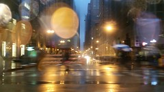Under Construction (michael.veltman) Tags: from a cab in the rain chicago illinois