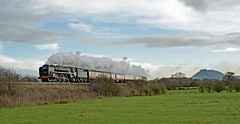 Britannia And Beeston Castle (ARG_Flickr) Tags: britannia 70000
