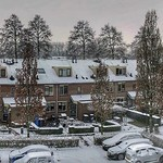 Winter snow panorama, Odijk, Netherlands - 3056 thumbnail
