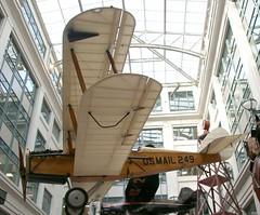 Smithsonian National Postal Museum, Washington DC; 249 de Haviland DH4 Mail Plane derivative (kitmasterbloke) Tags: smithsonian postalmuseum washington usa mailplane aircraft indoor vintage post