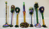 All in a day's work - Tucks' brushes and plungers (Monceau) Tags: kreweoftucks toiletbrush toiletplunger brush plunger decorated whimsical mardigras neworleans handcrafted