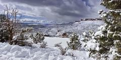 Kolob terrace Road in Zion National Park Utah (swissuki) Tags: kolob national nature park landscape sky snow utah ut zion supershot