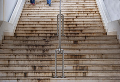Stairs and feet (JLM62380) Tags: stairs feet rabac croatia croatie escalier marches istrie personnes people
