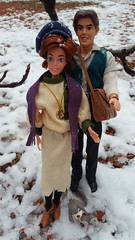 Journey to the Past Anya Dimitri and Pooka Dolls (everenthia) Tags: anastasia dimitri pooka anya don bluth galoob 20th century fox doll barbie snow journey past