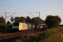 ITL ES 64 F4 - 205 + Güterzug/goederentrein/freight train  Frankfurt (Oder) - Hamburg Waltershof  - Bornim Grube (Rene_Potsdam) Tags: dispolok bornimgrube brandenburg deutschland railroad treinen trains trenes züge europe europa br189 itl