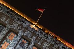 National Gallery Night to Light 2019 (ctheisinger) Tags: singapore centralregion sg national gallery light night 2019 flag smoke mirrors facade