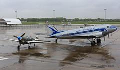 Douglas C 47  n° 9172  ~ F-AZTE / F-BBBE (Aero.passion DBC-1) Tags: carrefour de lair 2014 le bourget lbg dbc1 david biscove aeropassion avion aircraft aviation plane douglas c47 ~ fazte fbbbe dc3 dakota