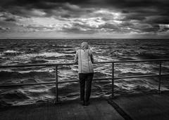 Inspiration (JardinsLeeds) Tags: scotland blackandwhitelandscape blackandwhite paysagenoiretblanc noiretblanc paysage landscape oceanview océan nikond800e