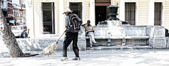 The cleaner (Gilles Meunier photo) Tags: person havana habana city man cleaner downtown