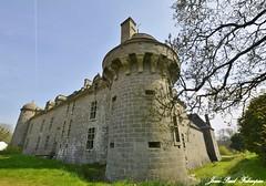 Château de Kergroadès à Brélès (2)  Bretagne / Finistère (jean-paul Falempin) Tags: architecture château bretagne finistère monument artsvisuels