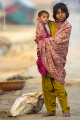 Reality check (Ross Forsyth - tigerfastimagery) Tags: india uttarpradesh despair sad reality poverty children child baby barefootinthestreet faces facesofindia imagesofindia villagelife