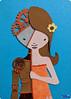 SerenaAzureth_ATC_RobotWithinPaperCollage2 (SerenaAzureth) Tags: serenaazureth handdrawn sketch drawing paint layer layered collage atc artist trading card swapbot swap bot girl woman robot cyborg papercraft paper craft