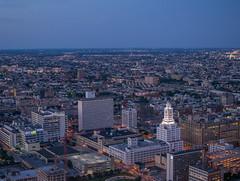 Inquirer Building (rodgersam) Tags: philadelphia pennsylvania city urban buildings blue dusk nikon cityscape