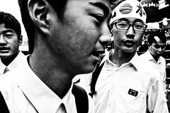 Close Up Tokyo (Victor Borst) Tags: street streetphotography streetlife reallife real realpeople asia asian asians faces face candid city cityscape citylife blackandwhite bw mono monotone monochrome urban urbanroots urbanjungle travel travelling trip traveling fuji fujifilm xpro2 expression japan japanese asakusa portrait streetportrait happyplanet asiafavorites