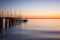 Languid (Through_Urizen) Tags: architecture category kemer places seascape sunrise turkey sea sunset ocean water pier bay sky colours colourful colorful colors pastelcolors canon canon550d canon1585mm landscape landscapephotography calmwater serene peaceful wave motion morning