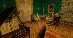 "Golitsyna's ""Exceptional Singing"" (Sofia ~Chateau D'Esprit~) Tags: stpetersburginsl rp sl secondlife roleplay 18th century rococo baroque russia saint petersburg sheremetev tzarevna natalya razumovsky graf highness affair maybe gossip music soiree evening event"