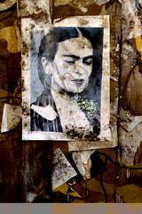 birthday photo walk & dinner, frida kahlo, mural detail (nolehace) Tags: mural street art streetart winter nolehace sanfranciso fz1000 119 frida kahlo fridakahlo birthday walk event