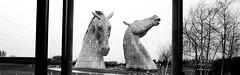 Kelpies triptych (rwbthatisme) Tags: kelpies falkirk scotland horses canals steel