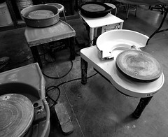 P3280656dftt (photos-by-sherm) Tags: cameron art museum wilmington nc north carolina winter instruction artist painting acrylic pottery ceramics class classroom