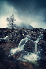 snow squall at the buckle (akh1981) Tags: glencoe sky snow scotland scenic nikon nisi nature nisifilters mountains moody mist rocks rain travel trees walking wideangle water waterfall uk outdoors countryside landscape longexposure beautiful benro atmosphere highlands hiking clouds valley river