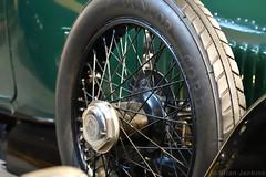Sheffield Simplex Spare Wheel (Bri_J) Tags: kelhamislandmuseum sheffield southyorkshire uk museum industrialmuseum yorkshire nikon d7500 sheffieldsimplex sparewheel tyre wheel spokes vintagecar