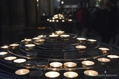 Candles II (geba02) Tags: candle candles vela velas iglesia church pray museo vaticano museum vatican roma rome italia italy europa europe viaje travel art arte contraste contrast ciudad city color colour black negro noche night blanco white