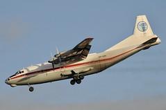 UR-CGW (LIAM J McMANUS - Manchester Airport Photostream) Tags: urcgw ukraineairalliance ukl freighter cargo antonov an12 an12bp antonovan12 manchester man egcc