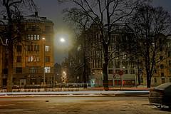 IMG_6886 (denjah) Tags: 2018 latvia riga городскоеосвещение зима зимнийвид ноч ночноефото снег улица фонарь iela night nightshot snow winter город denjahphoto