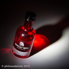 365-2019-002 - Raspberry Gin (phil wood photo) Tags: 365 365colorfun 365colourfun 43 50mm color365 colour365 day2 gin handcrafted january lightpainting miniature raspberry red spotlight whitleyneill