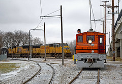 Clear Lake Junction Meet (jterry618) Tags: iowatraction iatr electric interurban railway railroad train engine car sky locomotive electricrailroad traction juice
