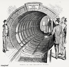 Illustration of portal of the Broadway tunnel from Illustrated description of the Broadway underground railway (1872) by New York Parcel Dispatch Company. Original from The New York Public Library. Digitally enhanced by rawpixel. (Free Public Domain Illustrations by rawpixel) Tags: illustrationoffromillustrateddescriptionofthebroadwayund illustrations airflue antique arrangementofthemachinery broadway broadwaytunnel broadwayundergroundrailway carriage cc0 contruction creativecommons0 design drawing drawn handdrawing handdrawn illustration interiorofthepneumaticpassengercar machine machinery men newpostofficeandproposedbroadwayundergroundrailway newyork newyorkparceldispatch newyorkparceldispatchcompany old operation passengercar people pneumaticpassengercar portalofthebroadwaytunnel precursorofundergroundpublictransitsystem process publicdomain rail railway section sketch station subway thebeachpneumatictransit theundergroundtunnelingmachine train tunnel tunnelingmachine underground undergroundrailway undergroundtunnelingmachine view viewlookingfromwithinthetunnelintothestation vintage tong illustrationoffromillustrateddescriptionofthebroadwayundergroundrailway