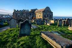 Whitby, St Mary's church. (alh1) Tags: northyorkshire stmaryschurch england whitby