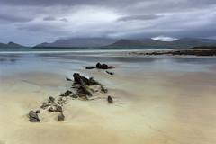 Co Kerry (irishman67) Tags: kerry cokerry beach ireland wildatlanticway sunrise sand rocks hills mountain clouds